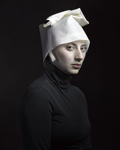 Hendrik Kerstens. I'm pretty sure that's an icing bag. These photos are awesome on so many levels.
