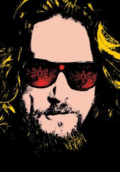 JEFF BRIDGES The Big Lebowski Illustration 13x19 by ellasgoods, $25.00