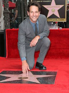 Star Tracks: Thursday, July 2, 2015 | A STAR IS BORN … | … on the Hollywood Walk of Fame, that is! Ant-Man's Paul Rudd was honored with his very own star in L.A. on Wednesday.