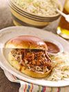 Pulled pork sandwiches are a great family dinner staple that require minimal planning ahead. Stuff your favorite pulled pork recipe, from spicy to barbecue, between slices of your favorite bread or b...see more
