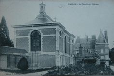 Chapelle | Domaine Royal de Randan Clermont Ferrand, Chapelle, Painting, Auvergne, Cards, Painting Art, Paintings, Painted Canvas, Drawings
