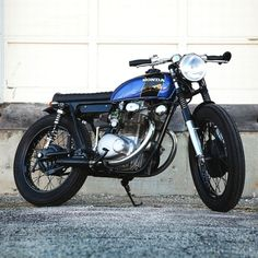 combustible-contraptions:  Honda 350 Cafe Brat | Tracker | Analog