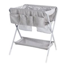 Spoling Changing Table: Perfect for small spaces, the Spoling Changing Table ($80) is easy to store when not in use, and comes with a washable cover and storage pockets.