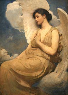 Winged Figure, 1889, by Abbott Handerson Thayer