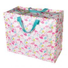 Save the Planet - XL Bag recycled plastic bottles) - Flamingos Childrens Bedroom Storage, Childrens Bedroom Accessories, Kids Storage, Toy Storage, Playroom Storage, Recycle Plastic Bottles, Save The Planet, Pink Flamingos, Giraffe