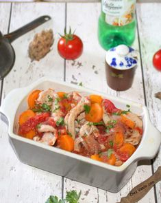 Chez Vanda, Shrimp, Meat, Food, Tomatoes, Duck Confit, Other Recipes, Fine Dining, Greedy People
