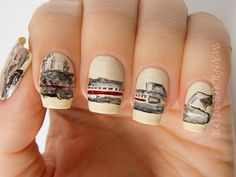manicurator: Digit-al Dozen September Spectacular - Music - Beastie Boys Licensed To Ill Freehand Nail Art