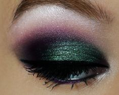 Enchanting Forest: Purples + Greens http://www.makeupbee.com/look_Enchanting-Forest-Purples--Greens_49394