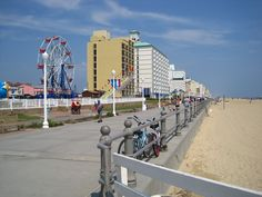 Boardwalk In Virginia Beach Newport News Hampton Roads Concerts