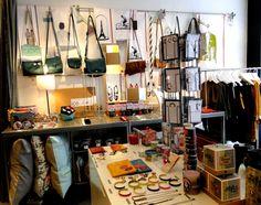 Coussins, bijoux, vêtements, escarpins Patricia Blanchet... Il y a tout ce qui se fait de plus joli chez Désordre Urbain !