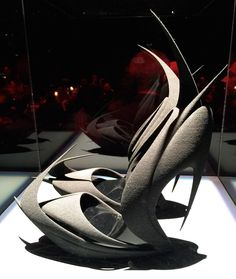 zaha hadid discusses her design approach - new shoes for united nude