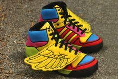 Es mas que obvio que los quiero. Adidas Jeremy Scott Wings