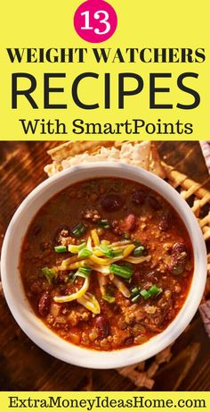 13 Ultimate Weight Watchers recipes with Smart Points. The best Weight Watchers recipes with Smart Points to help you lose weight faster and stay healthy Weight Watcher Dinners, Weight Watchers Desserts, Stay Healthy, Healthy Weight, Easy Healthy Recipes, Healthy Food, Dinner Reciepes, Recipe For Teens, Weightwatchers Recipes