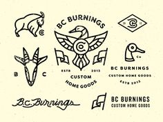 Law, lawyer, logo, monogram, typography, vintage in Identity