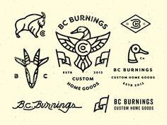 Law, lawyer, logo, monogram, typography, vintage in Identity