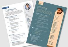 Dr. Web: Free Resume Templates to make yourself standing out of the crowd.