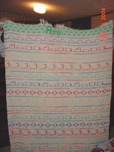 ^>Swedish Huck Weaving<^ So cute for the boys! :-)
