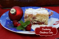 Mommy's Kitchen - Recipes From my Texas Kitchen: Cranberry Christmas Cake with White Chocolate & Pecans Holiday Cakes, Christmas Desserts, Christmas Cakes, Christmas Goodies, Holiday Treats, Cake Recipes, Dessert Recipes, Dinner Recipes, Party Recipes