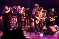In reality, Tower of Power's horn driven, in-your-face sound is all their own, and verbal descriptions fail. Description from jazzinternet.com. I searched for this on bing.com/images