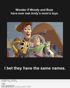 This is just wrong. But so hilarious. I will never see Toy Story the same way again...