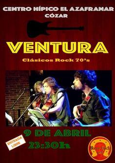 Centro Hípico El Azafranar (Cózar) - Concierto VENTURA Clásicos Rock 70's