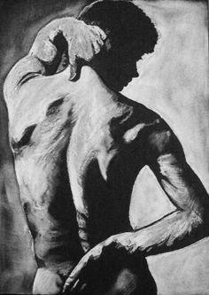 Drawing May 3: Nude Nureyev