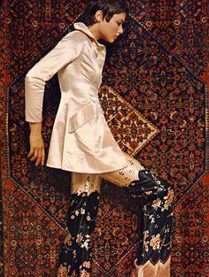 "the60sbazaar: "" Ossie Clark fashion c.1968 """