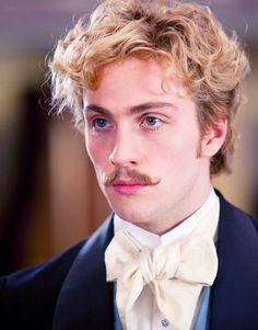 Aaron Taylor-Johnson as Count Vronsky in 'Anna Karenina' (2012).