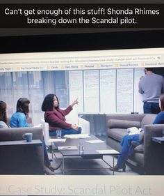 Can't get enough. Shonda breaks down the Scandal pilot. #livinthedream #tvwriter #tvwriting #screenwriter #scandal #shondarhimes #shondarhimesmasterclass #masterclass #tvshows #tvshows #script #scriptwriter #createdby from Instagram: http://bit.ly/2qpD8hN   http://davearena.com/2017/05/17/2482/
