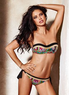 cfec84bfe0e8d Highlights from Calzedonia Swimwear 2016 Campaign featuring Adriana Lima
