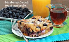 Manila Spoon: Blueberry French Toast Casserole