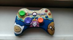 Custom painted adventure time xbox 360 controller on Etsy, $65.00