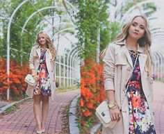 On Sixth Cloud Dress, Mart Of China Bag, Michael Kors Trench Coat, Persunmall Necklace, Michael Kors Watch