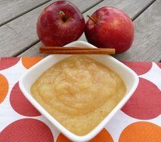 Recetas: Puré de manzana