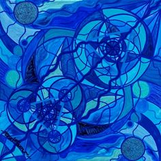 Arcturian Calming Grid - Frequency Paintings - Teal Swan