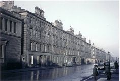 Picture From The Old Gorbals . The building on the left is the Greek Thompson Church which faces onto Caledonia Road.