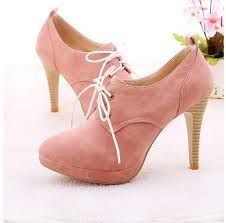 lace up high heel shoes