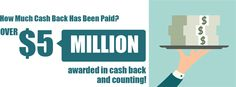 Over $5 Million awarded in cash back and still counting! Wouldn't you like to start earning on your everyday purchases? Visit www.shoppingannuity.com today to learn how you can create a shopping annuity.
