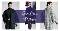 Pin for later...7010This FREE Coat pattern was inspired by Chado Ralph Rucci coats and it can be made reversible. The pattern was published in the Russian website season.ru and is available in European size 48 (US size 20). It is a standout … Read More