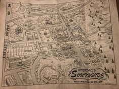 Map of Riverdale's Southside, figured you guys would like a peek~ : riverdale