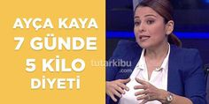 Ayça Kaya Diet List 1 Weight Loss 5 Weeks a Week Diet And Nutrition, Health Diet, Health Fitness, Natural Remedies For Ed, Quit Drinking Alcohol, Aerobics Workout, Health Insurance Companies, Sagging Skin, Loose Weight