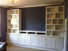 Bedroom wall storage cabinets inexpensive built in units full basement remodel amazing white i . bedroom storage shelves wall units for . Bedroom Wall Units, Living Room Wall Units, Living Room Plan, Bedroom Storage, Living Rooms, Bedroom Shelves, Bedroom Tv, Design Bedroom, Modern Bedroom
