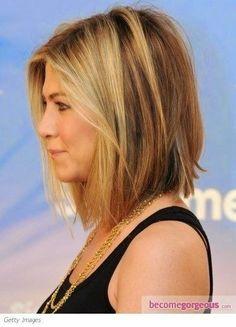 Hair Cuts Long Layers Jennifer Aniston 15 Ideas For 2019 Medium Hair Cuts, Long Hair Cuts, Medium Hair Styles, Short Hair Styles, Over 40 Hairstyles, Short Hairstyles For Women, Trendy Hairstyles, Hairstyles 2016, Swing Bob Hairstyles