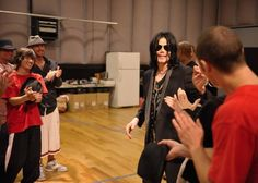 "\ Michael Jackson HIStory May 7, 2009. Kenny Ortega & MJ rehearse for the ""This Is It"" tour in Burbank, CA"