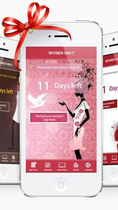 Professional period calendar for Android: a must-have in every woman's device. It will help you to track your periods and will accurately determine the best days to conceive-fertile period and ovulation days.<p>*Personalized information*<br>-Add your own text notes.<br>-the start and end dates of your period<br>-intercourse dates<br>-symptoms for every day<br>-mood for every day<br>-weight for every day<br>-temperature for every day<br>Shows fertility and ovulation days<br>Shows ovulation…