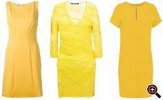 Kleid gelb - Cocktailkleid, Maxikleid, Abendkleid, Partykleid & Sommerkleid
