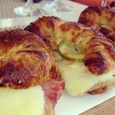 Mini Cuban Sandwiches on Croissants (South Beach)