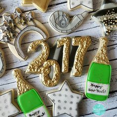 New Years Eve cookie