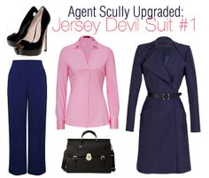 Geeky at Work: Scully Chic Suited Up