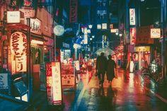 Night Photo of Tokyo's Streets by Masashi Wakui [2048x1365]